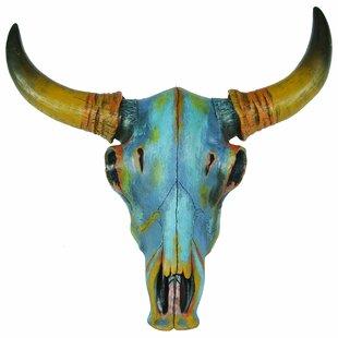 Coloured Skull Wall Decor