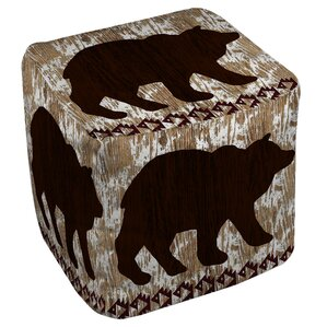 Wilderness Bear Ottoman by Manual Woodworkers & Weavers