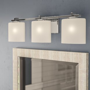 Luzerne 3-Light LED Vanity Light By Brayden Studio Wall Lights