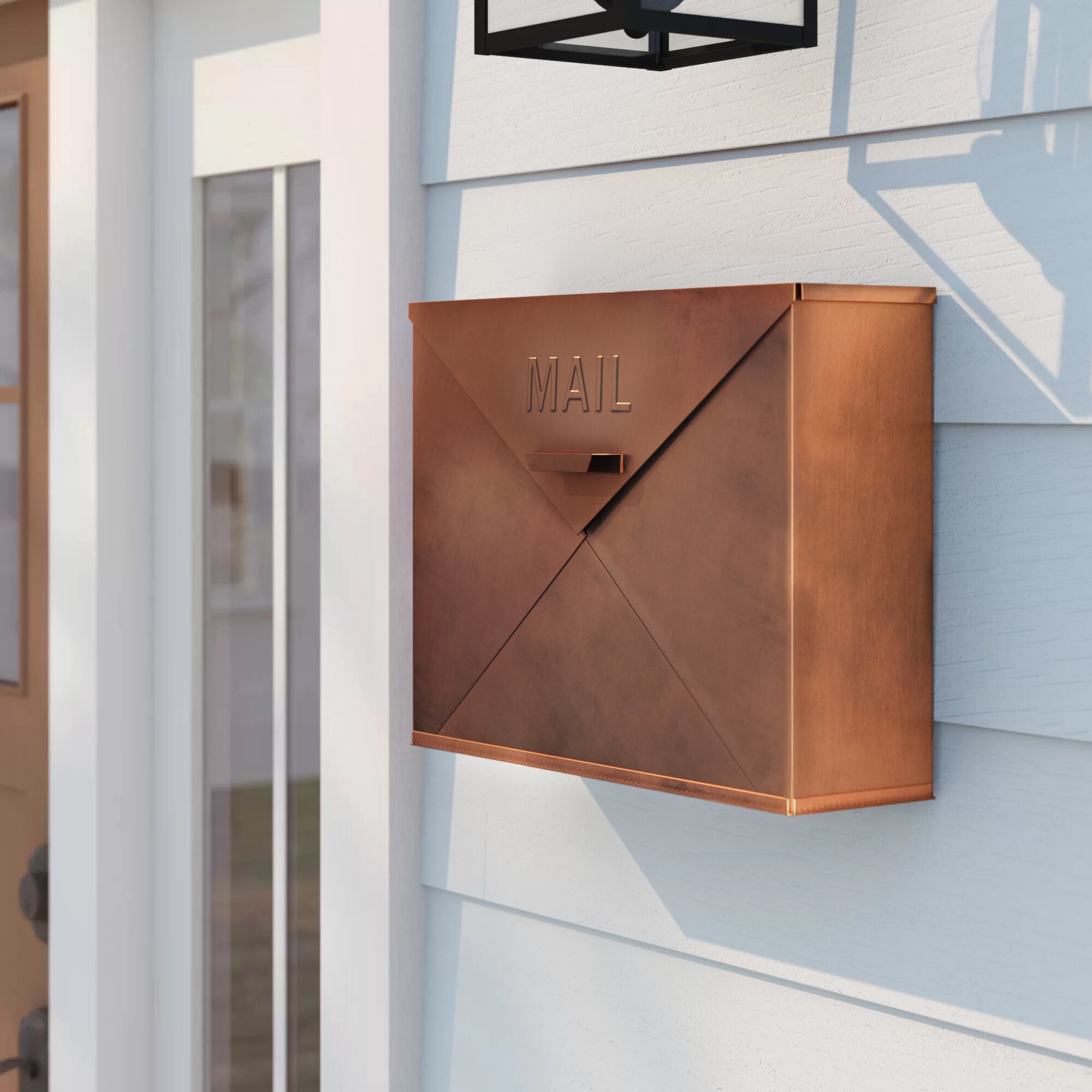 Sol 72 Outdoor Anderson Wall Mounted Mailbox Reviews Wayfair
