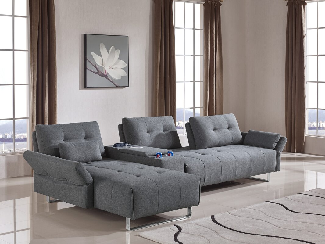 Parmelee Modular Sectional with Storage