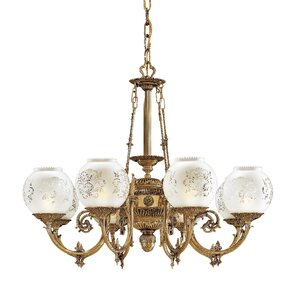 White Vintage Chandelier Wayfair