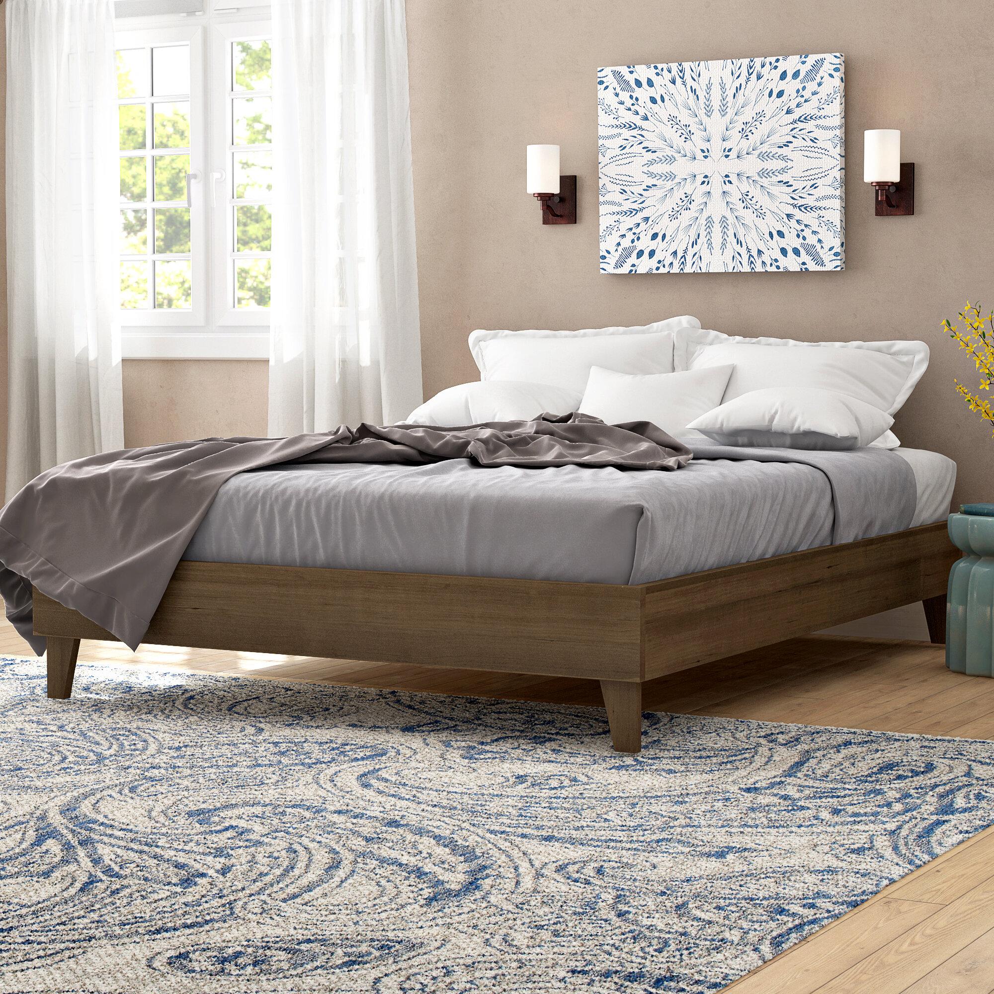 Three Posts Filey Exceptional Platform Bed Reviews Wayfair