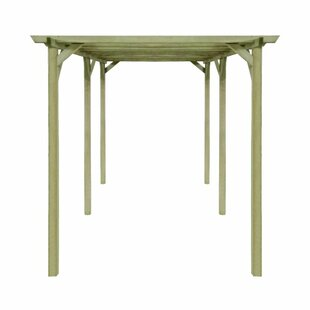 Review Lyanna 2m X 4m X 2m Wood Pergola