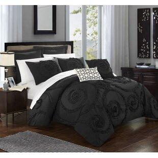 Nata 11 Piece Solid Comforter Set by Willa Arlo Interiors