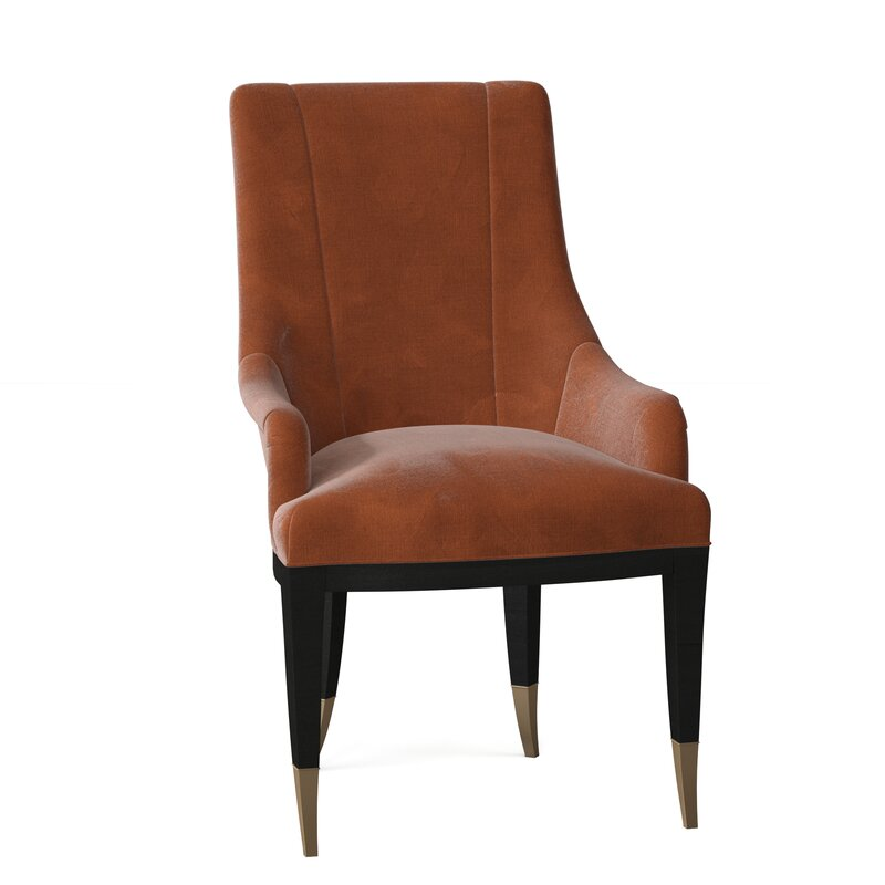 Caracole Classic A La Carte Upholstered Parsons Chair