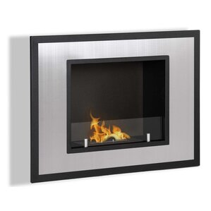 Abbott Ventless Built in Recessed Wall Mount Bio Ethanol Fireplace by Orren Ellis