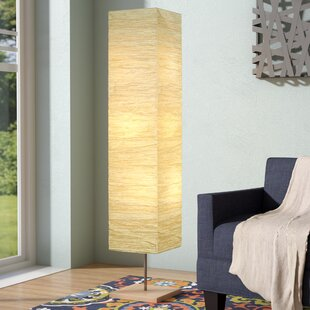 Paper Rectangle Shaped Floor Lamps You