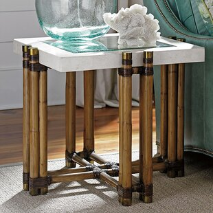 Best Price Twin Palms End Table by Tommy Bahama Home