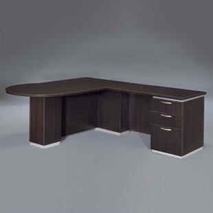 Pimlico Right Peninsula L Shape Executive Desk