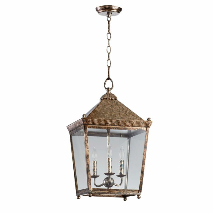 3-Light Lantern Pendant #hanginglantern