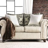 Burcham 68 Rolled Arm Loveseat by Darby Home Co