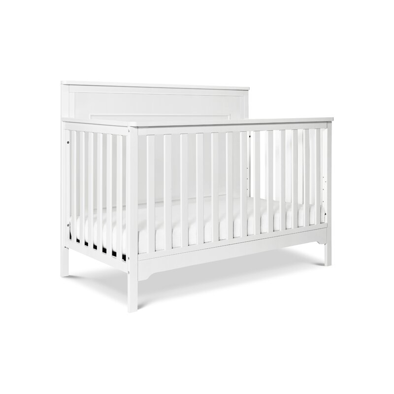 Carter's Dakota 4-in-1 Convertible Crib in Grey Finish