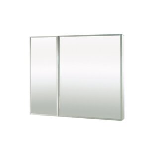 Element Surface Mount Frameless Medicine Cabinet with 3 Adjustable Shelves by Maax Inc