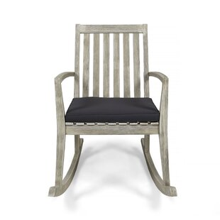 Gracie Oaks Schorr Rocking Chair