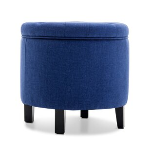 Obadiah Tufted Storage Ottoman by House of Hampton
