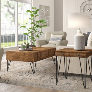 Bayle 2 Piece Coffee Table Set