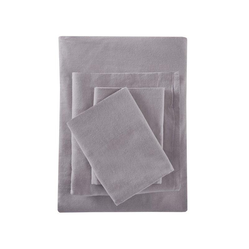Casey 100% Cotton Flannel Sheet