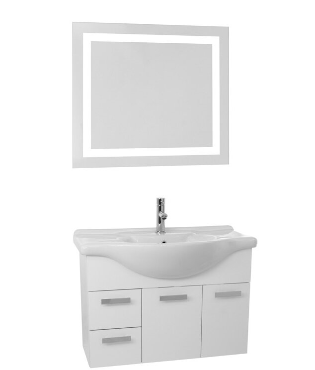 Favour Ivy Bronx Liddell 32 Single Bathroom Vanity Set With Mirror Price