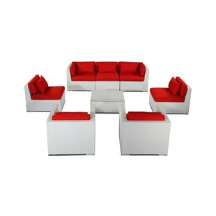 Molokai 8 Piece Sectional Set with Cushions