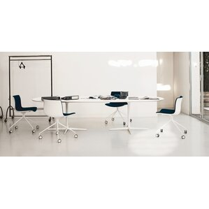 Eolo Large Oval Dining Table by Arper