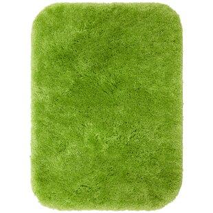 Traditional Black 24 In Plush Nylon Bath Mat Bottom Eco Friendly Anti X 40 In