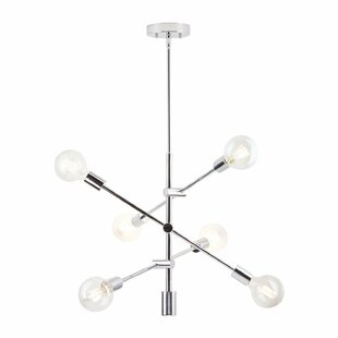 Latitude Run Gini 6-Light Chandelier