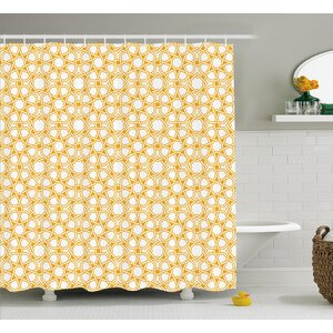 Braylen Islamic Ethnic Effects Shower Curtain Ivy Bronx