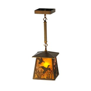 Meyda Tiffany Ducks in F Light Lantern Pendant