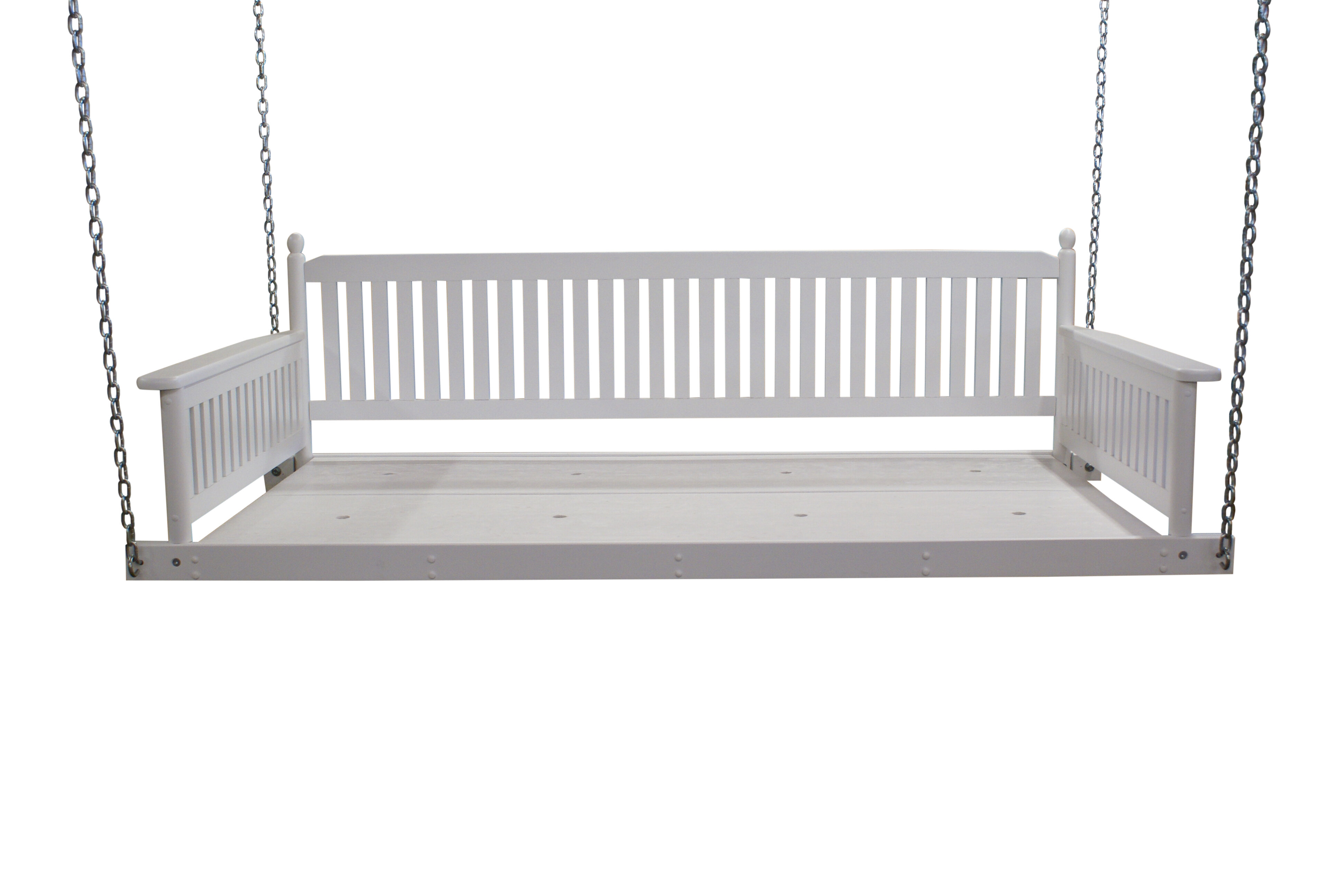 White Porch Swings Free Shipping Over 35 Wayfair
