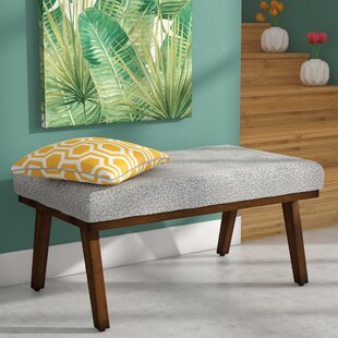 Gideon Decorative Upholstered Bench by Modern Rustic Interiors