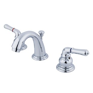 Kingston Brass Magellan Widespread Bathroom Faucet with 50/50 Pop-Up Drain