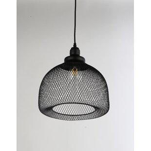 Williston Forge Manda 1-Light Dome Pendant