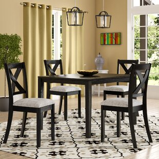 Zaftig Transitional 5 Piece Dining Set Laurel Foundry Modern Farmhouse