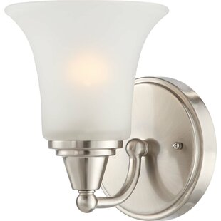 Affordable Reynal 1-Light Wall Sconce By Charlton Home