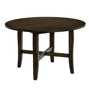 Stainforth Transitional Solid Wood Dining Table Gracie Oaks