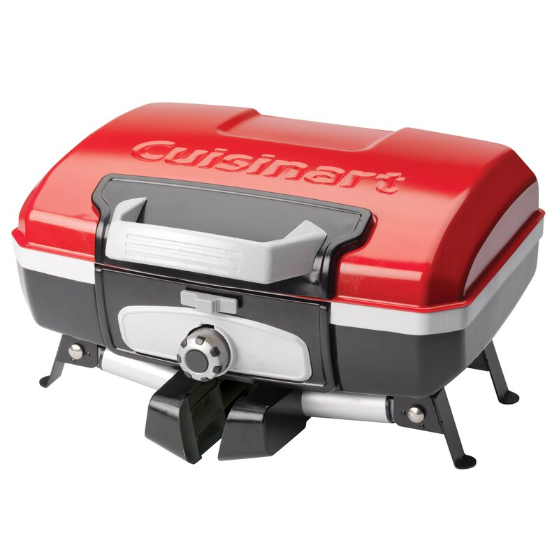 Cuisinart Petit Gourmet Tabletop Portable Gas Grill (Part number: CGG-180T)