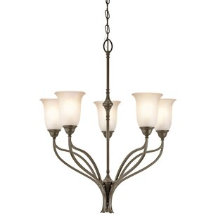 Fulford 5-Light Shaded Chandelier by Charlton Home