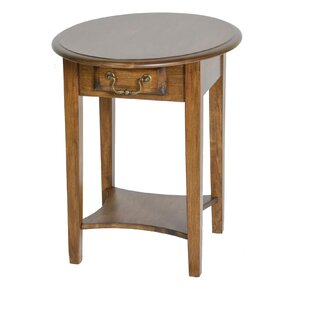 Seger End Table with Drawer by Alcott Hill