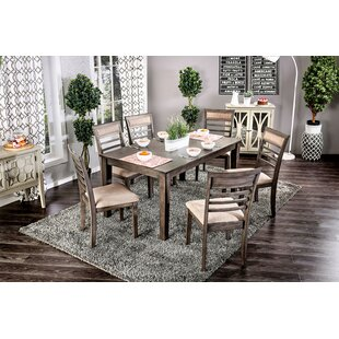 Opalstone 7 Piece Dining Set by Gracie Oaks Coupon
