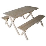 Jonathon 3 Pieces Dining Set
