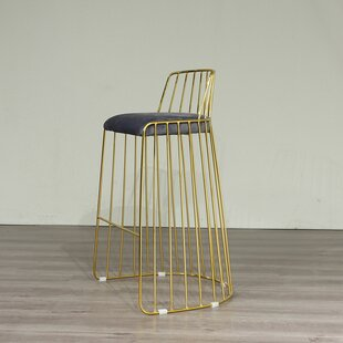 McCarey 74cm Bar Stool By Canora Grey