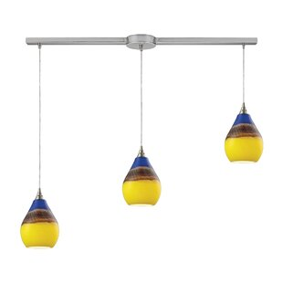 Mellinger 3-Light Cluster Pendant by Ebern Designs