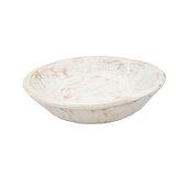 Jeremie Painted Round Rustic Wooden Dough Decorative Bowl