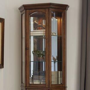 Top Floor Standing Curio Cabinet | Wayfair LE57