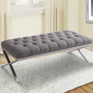 Loden Upholstered Bench by Brayden Studio