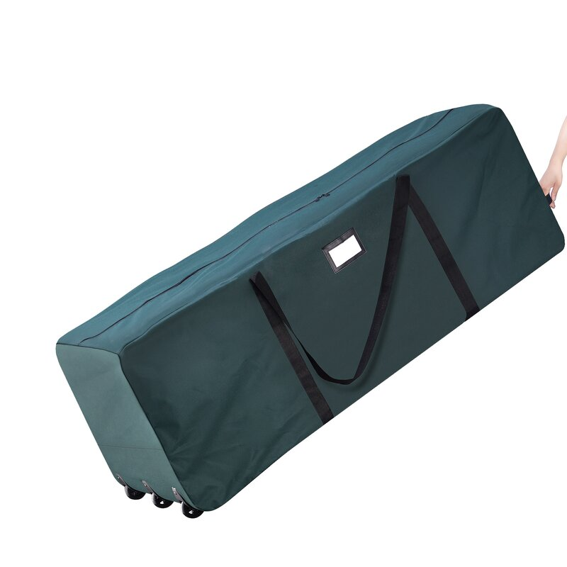 sellersburg rolling duffle bag christmas tree storage bag - Christmas Tree Bag Storage