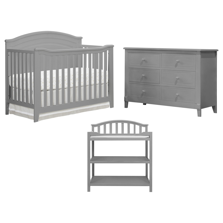 Sorelle Berkley Convertible Standard 3 Piece Nursery Furniture Set Reviews Wayfair