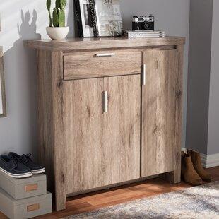 Union Rustic Tellier Shoe Storage Cabinet