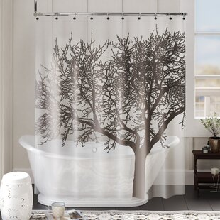 Maspeth EVA 5G Tree Vinyl Single Shower Curtain Liner